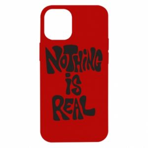 Etui na iPhone 12 Mini Nothing is real