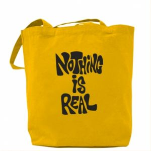 Torba Nothing is real