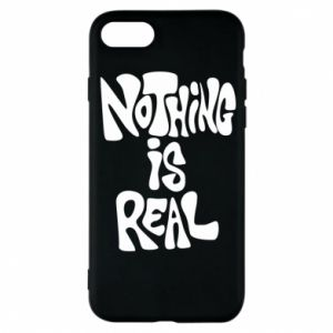Etui na iPhone 8 Nothing is real