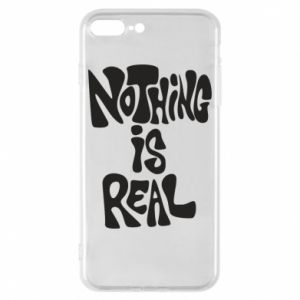 Etui na iPhone 8 Plus Nothing is real