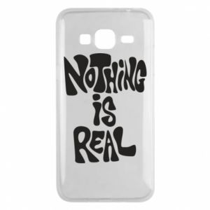 Etui na Samsung J3 2016 Nothing is real