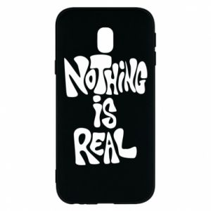 Etui na Samsung J3 2017 Nothing is real