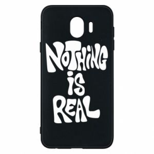 Etui na Samsung J4 Nothing is real
