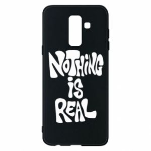 Etui na Samsung A6+ 2018 Nothing is real