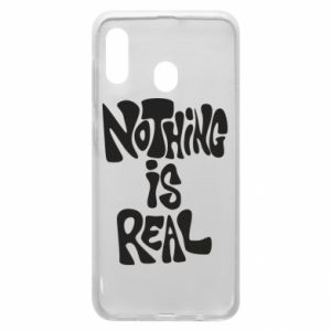 Etui na Samsung A20 Nothing is real