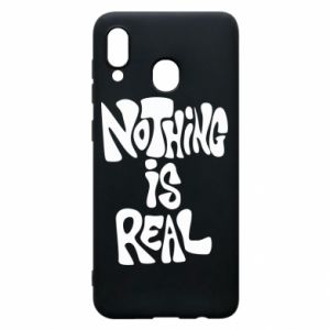 Etui na Samsung A30 Nothing is real