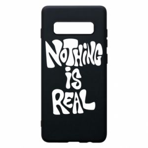 Etui na Samsung S10+ Nothing is real