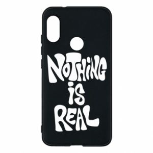 Etui na Mi A2 Lite Nothing is real