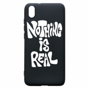 Etui na Xiaomi Redmi 7A Nothing is real