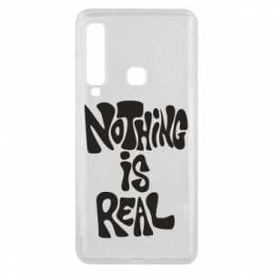 Etui na Samsung A9 2018 Nothing is real