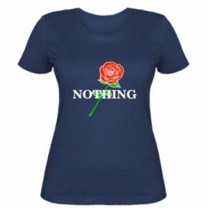 Damska koszulka Nothing