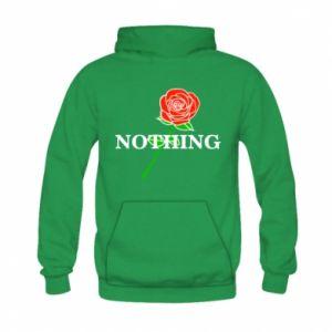 Bluza z kapturem dziecięca Nothing