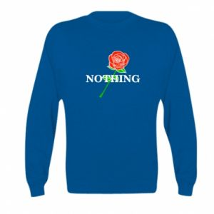 Bluza dziecięca Nothing