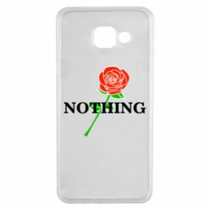 Etui na Samsung A3 2016 Nothing