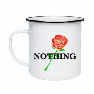 Kubek emaliowany Nothing