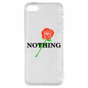 Etui na iPhone 5/5S/SE Nothing