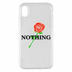 Etui na iPhone X/Xs Nothing