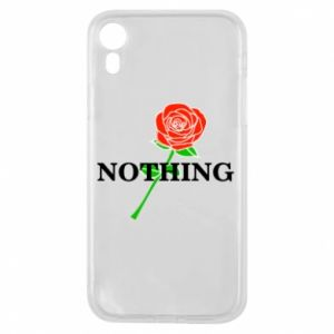 Etui na iPhone XR Nothing