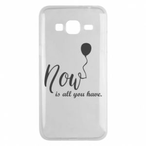 Etui na Samsung J3 2016 Now is all you have