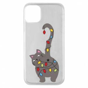 Etui na iPhone 11 Pro Noworoczny kot