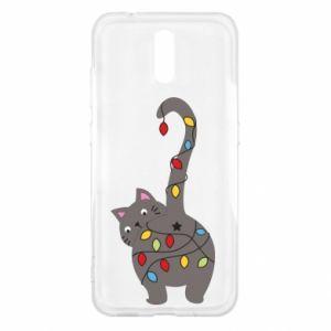 Etui na Nokia 2.3 Noworoczny kot