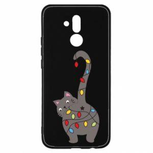 Etui na Huawei Mate 20 Lite Noworoczny kot