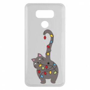 Etui na LG G6 Noworoczny kot