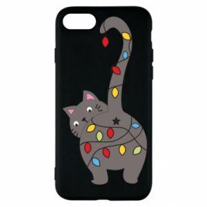 Etui na iPhone SE 2020 Noworoczny kot
