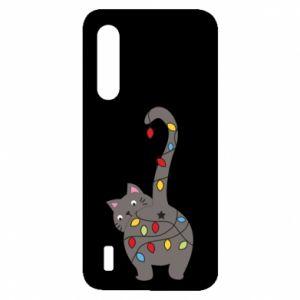Etui na Xiaomi Mi9 Lite Noworoczny kot