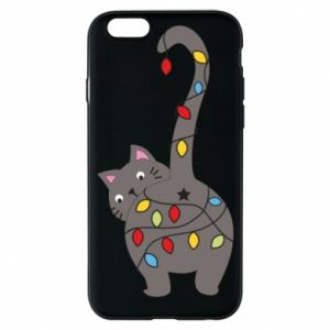 Phone case for iPhone 6/6S New Year's cat