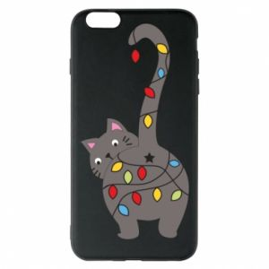 Phone case for iPhone 6 Plus/6S Plus New Year's cat