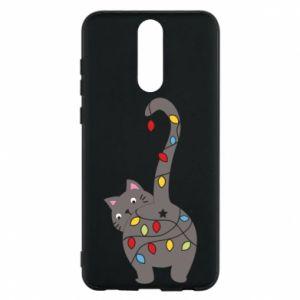 Etui na Huawei Mate 10 Lite Noworoczny kot
