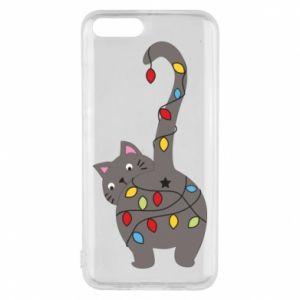 Etui na Xiaomi Mi6 Noworoczny kot