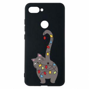 Etui na Xiaomi Mi8 Lite Noworoczny kot