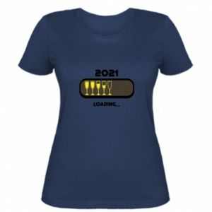 Women's t-shirt New year loading