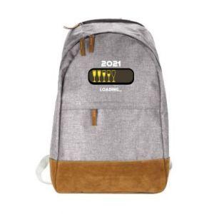 Urban backpack New year loading