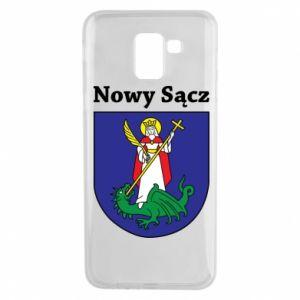 Etui na Samsung J6 Nowy Sącz. Herb.