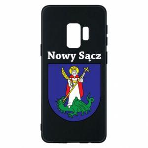 Etui na Samsung S9 Nowy Sącz. Herb.