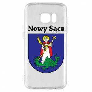Etui na Samsung S7 Nowy Sącz. Herb.