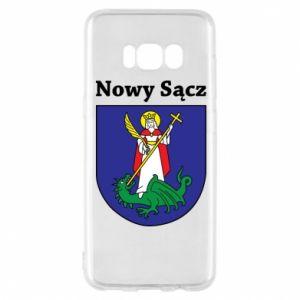 Etui na Samsung S8 Nowy Sącz. Herb.