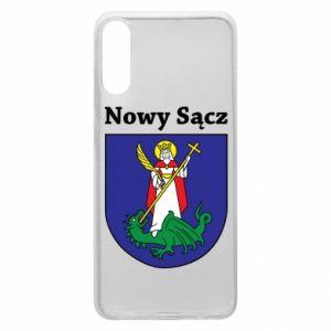 Etui na Samsung A70 Nowy Sącz. Herb.