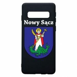 Etui na Samsung S10 Nowy Sącz. Herb.