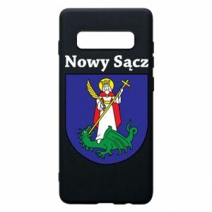 Etui na Samsung S10+ Nowy Sącz. Herb.