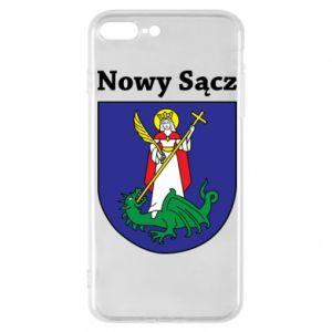 Etui na iPhone 8 Plus Nowy Sącz. Herb.