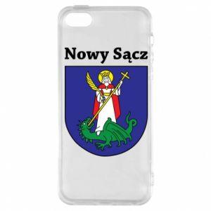 Etui na iPhone 5/5S/SE Nowy Sącz. Herb.