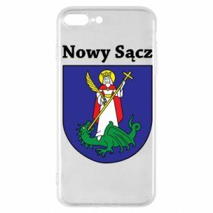 Etui na iPhone 7 Plus Nowy Sącz. Herb.