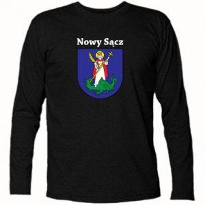 Koszulka z długim rękawem Nowy Sącz. Herb.