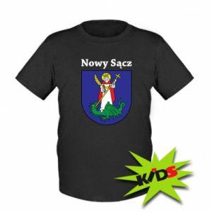 Kids T-shirt Nowy Sacz. Emblem.