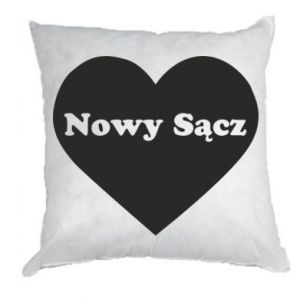 Pillow I love Nowy Sacz