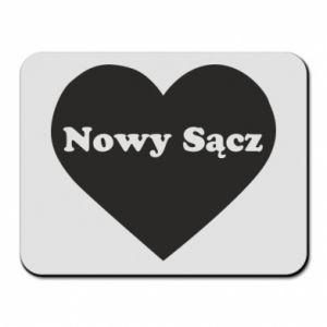 Podkładka pod mysz Kocham Nowy Sącz - PrintSalon